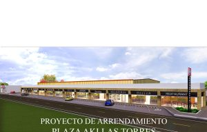 Leasing Project – Plaza Aki Las Torres